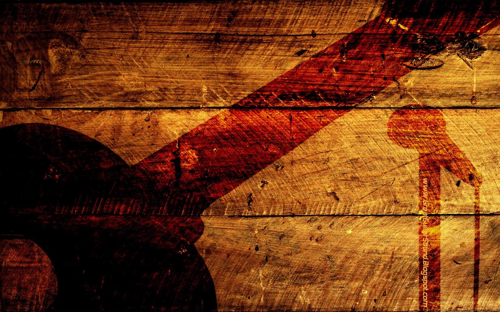 Guitar Stand White Wallpaper 71